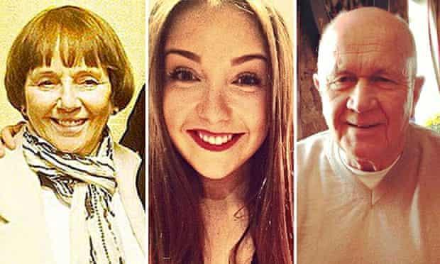 Lorraine Sweeney, Erin McQaude, Jack Sweeney
