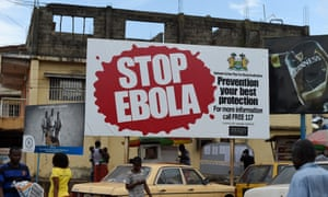 Stop Ebola sign in Freetown