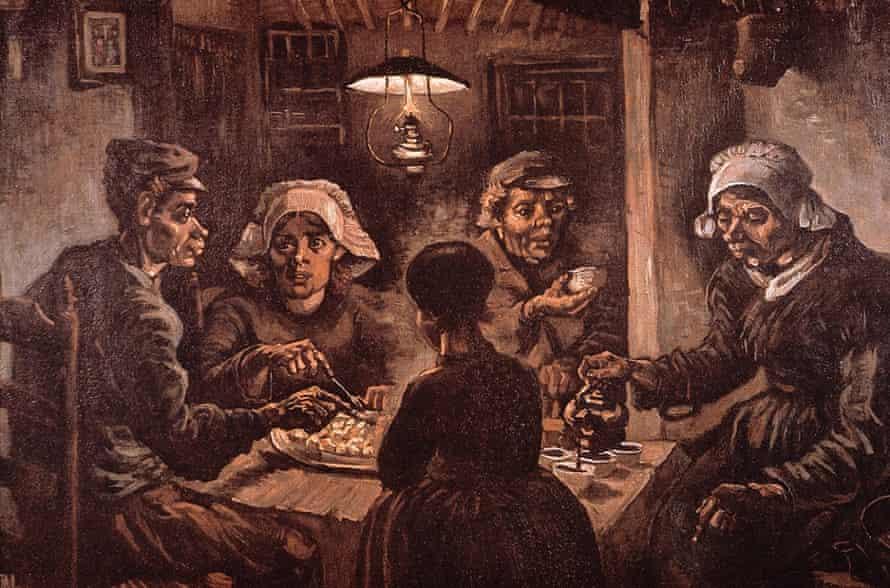 The Potato Eaters, by Vincent Van Gogh.