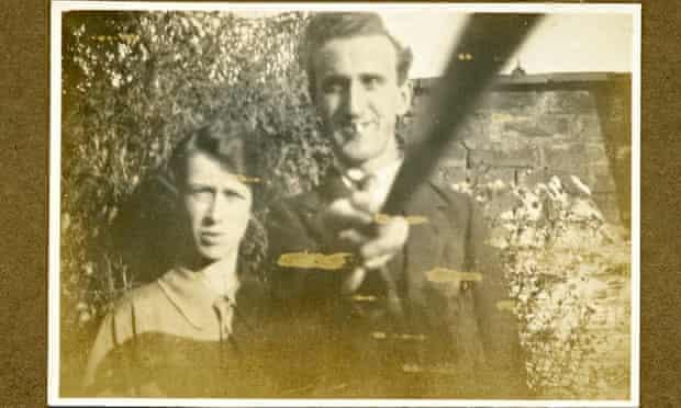 Arnold and Helen Hogg's selfie, taken in 1926