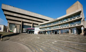 The now-condemned Birmingham Central Library