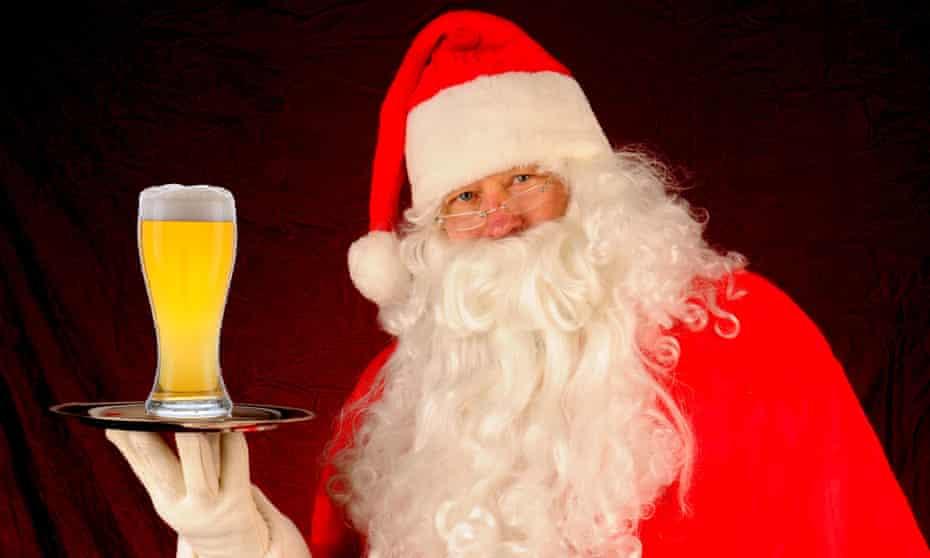 santa claus drink