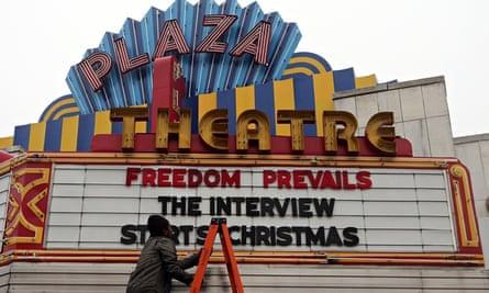 The Interview cinema Atlanta