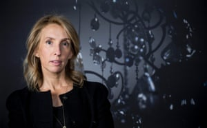 Sam Taylor-Johnson, photographer, filmmaker, was photographed by David Levene, with her photographic exhibition Second Floor at the Saatchi Gallery in London in September