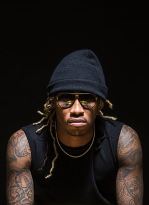 Future, aka Nayvadius Cash, a musician, rapper, hip hop photographed by David Leven in February