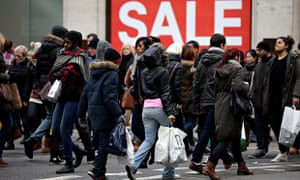 Bargain hunters Boxing Day Sales London Oxford Street