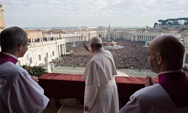 Pope Francis  at the  Vatican