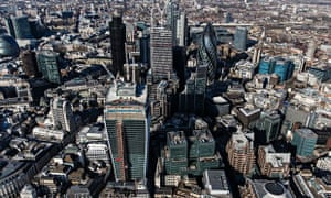 The City of London skyline