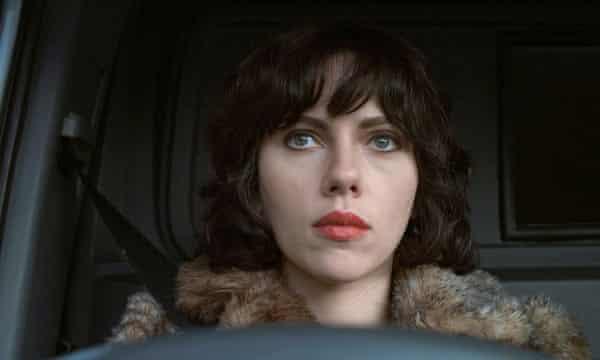Scarlett Johansson in Under The Skin.