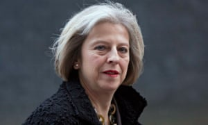 Theresa May, the home secretary, had no enthusiasm for the report on the impact of legislation