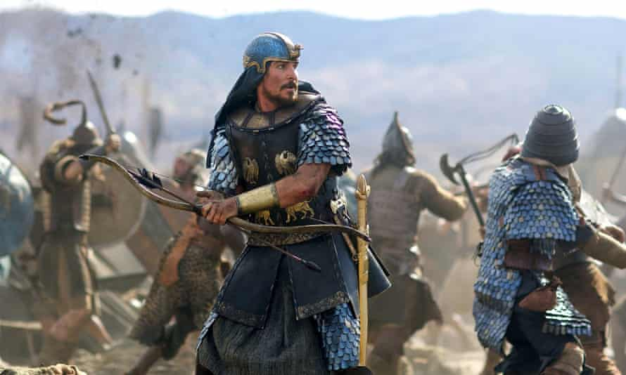 Christian Bale stars as Moses in Ridley Scott's biblical epic Exodus.