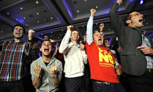 Scottish independence no victory