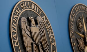 A sign stands outside the National Security Administration (NSA) campus on Thursday, June 6, 2013, in Fort Meade, Md. A