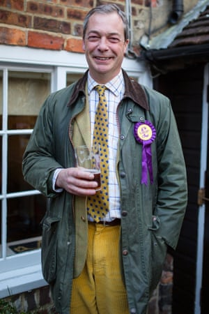 Nigel Farage is the least popular party leader among young voters.