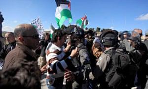 Palestine Israel protest West Bank