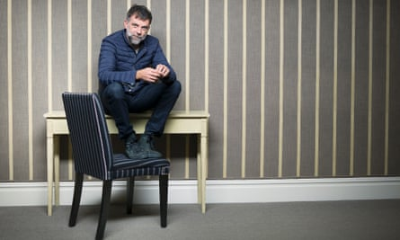 Paul Thomas Anderson photographed in Londonby Pål Hansen for the Observer New Review