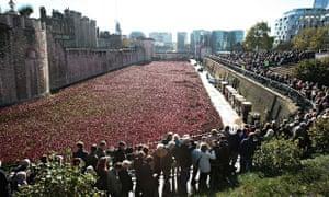 Tower of London poppies memorial