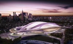 Zaha Hadid's Tokyo Olympic stadium