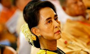 Aung San Suu Kyi, 13 December 2014