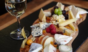A cheese platter  – welcome at any party.
