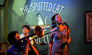 The Spotted Cat club, New Orleans.