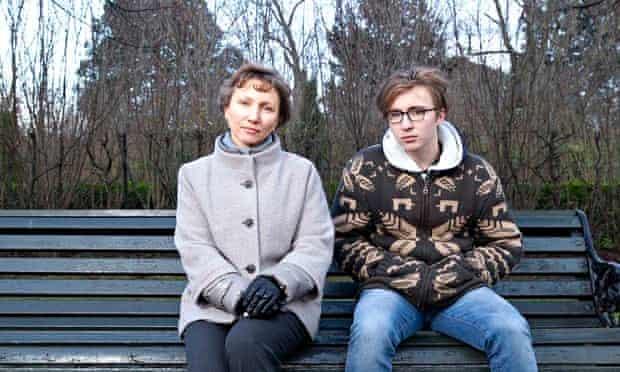 Marina and Anatoly Litvinenko in Regents park, London
