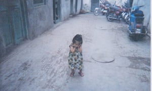 Picture taken by child in Lahore's red light district for Lensastional photography workshop