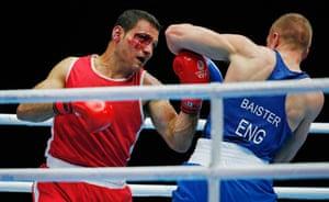 Mens Heavyweight boxing, Commonwealth Games, SECC, Glasgow. 30/7/14.