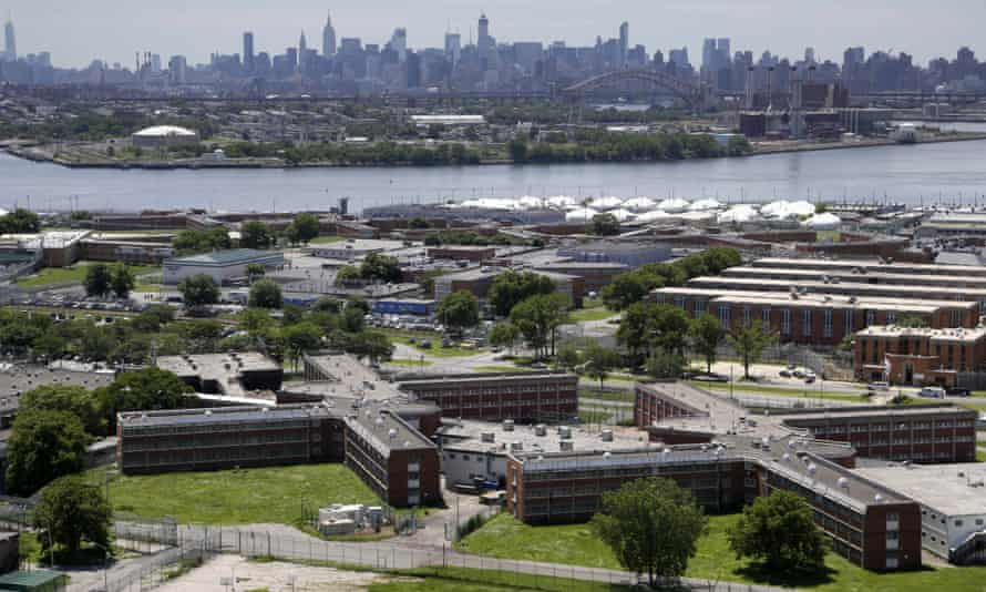 Far from New York City's skyscrapers and trendy neighborhoods, Rikers Island sits by itself in the East River.