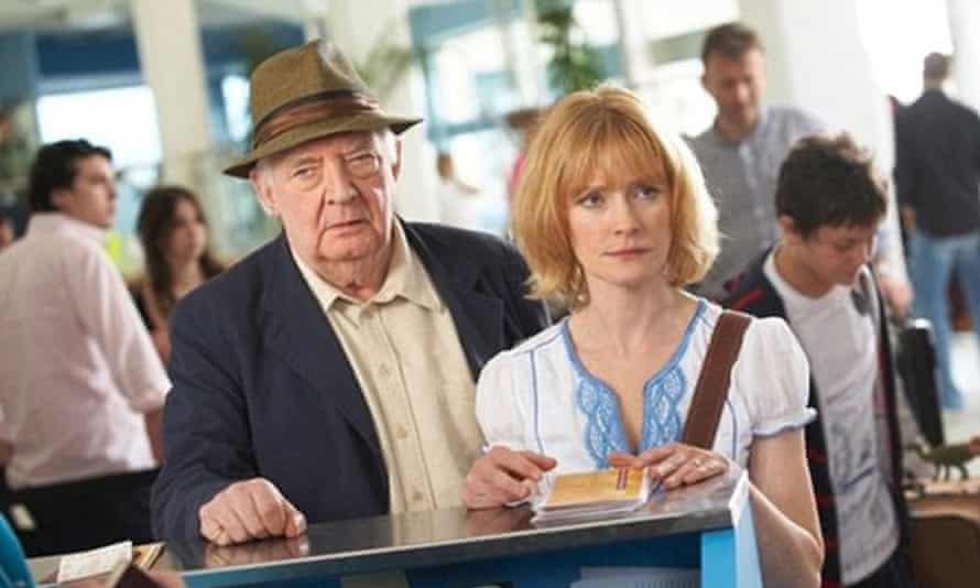 David Ryall with Claire Skinner in Outnumbered.