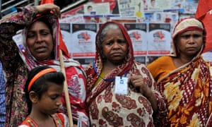 Rana Plaza factory collapse protest.