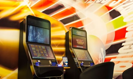 Fixed odds betting terminals in a Coral's bookmakers. Photograph: Islandstock/Alamy