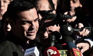 Syriza's Alexis Tsipras