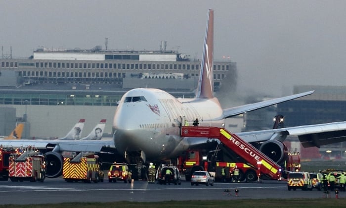Virgin Atlantic pilot lands 447 passengers safely in Gatwick drama