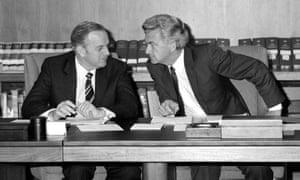 Bob Hawke and Lionel Bowen