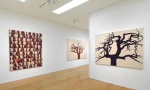 Tony Bevan exhibition