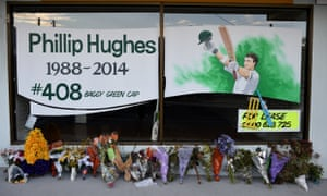 Phillip Hughes tributes in the streets of Macksville