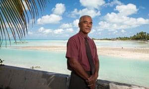 Kiribati president Anote Tong, photographed in December 2014