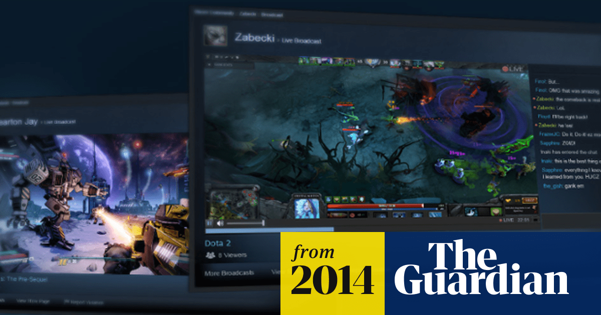 Steam Takes On Twitch With New Games Streaming Service Games The Guardian