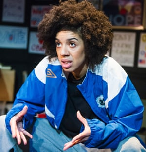 Pearl Mackie in Obama-ology by Aurin Squire