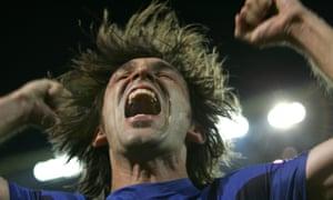 Andrea Pirlo in the 2006 World Cup semi-final