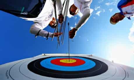 London Olympics 2012 Archery team