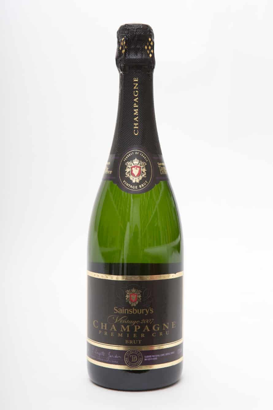 Sainsbury's Vintage 2007 champagne premier cru.Photo by Graham TurnerFor G2