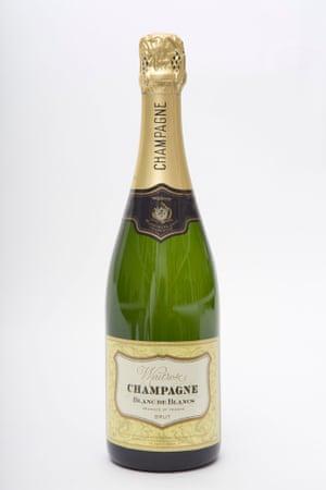Waitrose Champagne Blanc De Blancs.