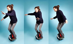 Kit Buchan on the Solowheel. He wobbles. He flaps. He glides. For a bit…
