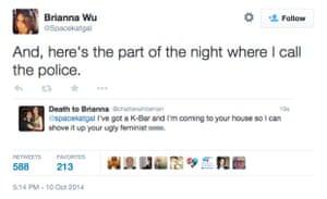 brianna wu threat tweet