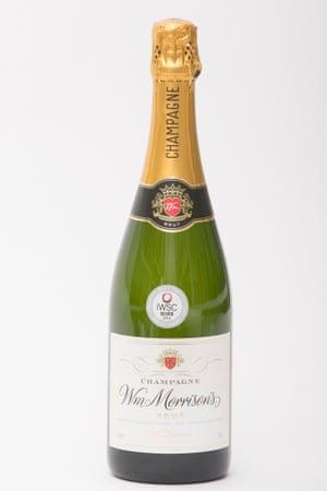 Morrisons M Signature Champagne Brut.