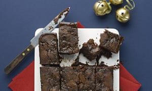 Thomasina Miers' Salted chocolate brownies