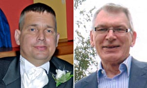 Darren Hughes and Robert Stuart, who died after what surgeons had considered successful operations.