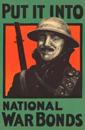 national war bond advertisemen